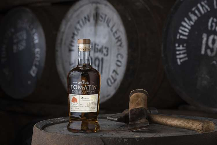 Special whisky release marks distillery's £50,000 charity contribution