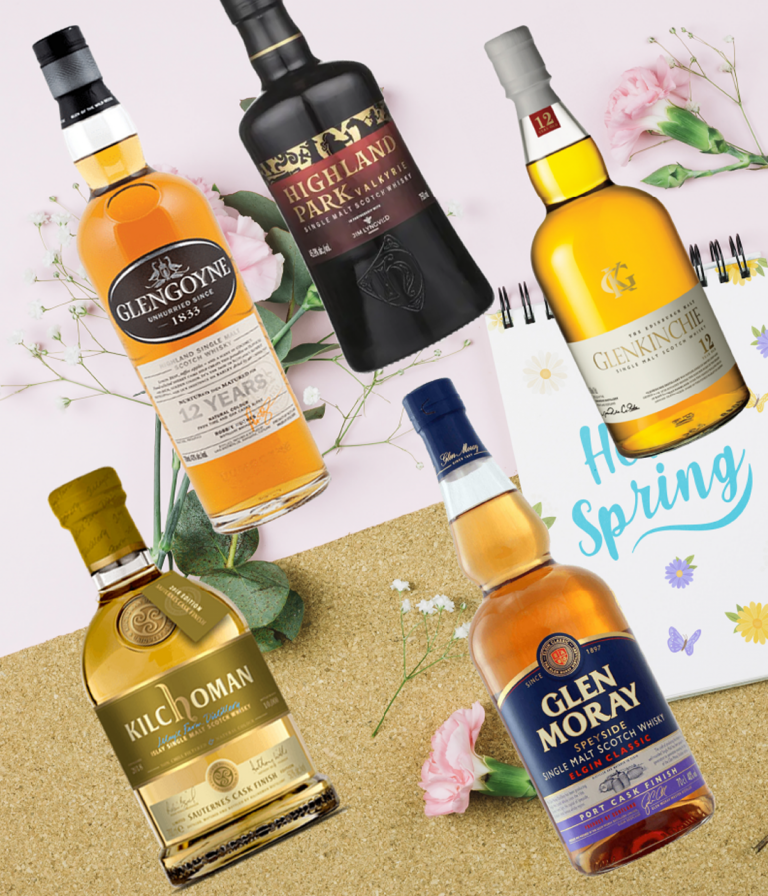 5 perfect whisky bottles to drink this spring